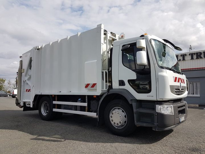 Trucks Renault Premium Refuse collector body 280dxi.19 BOM - MANUAL BLANC - 3
