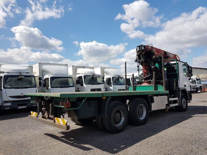 Trucks Mercedes Actros Timber truck body 3351 KN 6x4 V8 + JONSERED 2490 BLANC - VERT - 2