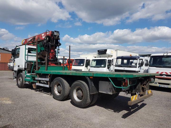 Trucks Mercedes Actros Timber truck body 3351 KN 6x4 V8 + JONSERED 2490 BLANC - VERT - 5