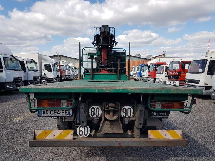 Trucks Mercedes Actros Timber truck body 3351 KN 6x4 V8 + JONSERED 2490 BLANC - VERT - 8