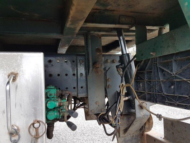 Trucks Mercedes Actros Timber truck body 3351 KN 6x4 V8 + JONSERED 2490 BLANC - VERT - 16