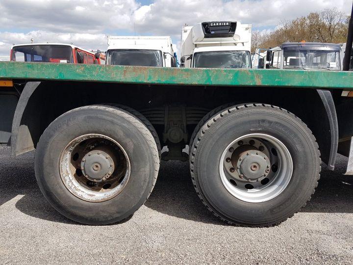 Trucks Mercedes Actros Timber truck body 3351 KN 6x4 V8 + JONSERED 2490 BLANC - VERT - 17
