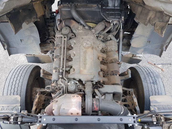 Trucks Mercedes Actros Timber truck body 3351 KN 6x4 V8 + JONSERED 2490 BLANC - VERT - 18