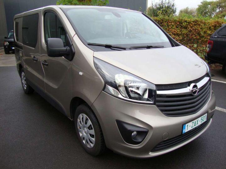 Utilitaire léger Opel Vivaro Autre 125 pk, L1, 5 pl, dub cab, gps, 2019, camera, PDC Beige - 22