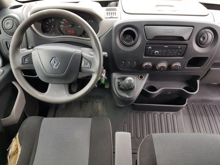Utilitaire léger Renault Master Benne arrière 150dci.35 PMJ - BENNE + COFFRE BLANC - VERT Occasion - 16