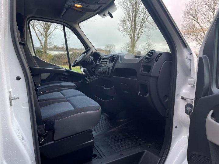 Utilitaire léger Renault Master Benne arrière 165 CV BENNE PAYSAGISTE COFFRE CROCHET BLANC - 13