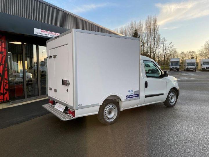 Utilitaire léger Fiat Doblo Caisse frigorifique BLANC - 3