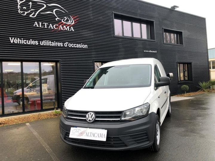 Utilitaire léger Volkswagen Caddy Caisse isotherme BLANC - 1