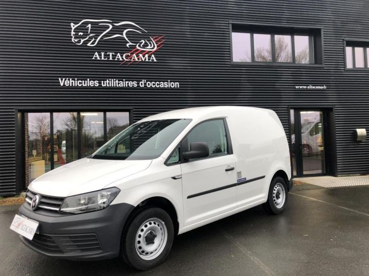 Utilitaire léger Volkswagen Caddy Caisse isotherme BLANC - 2