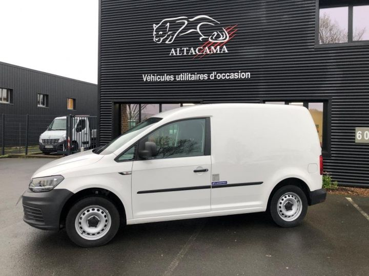 Utilitaire léger Volkswagen Caddy Caisse isotherme BLANC - 3
