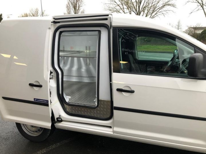 Utilitaire léger Volkswagen Caddy Caisse isotherme BLANC - 7