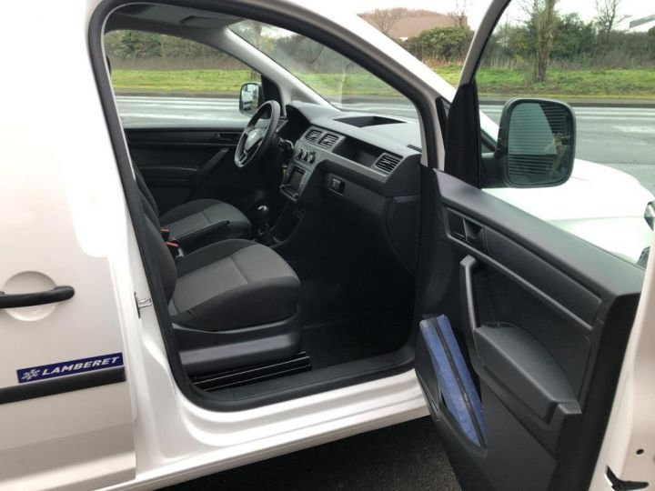 Utilitaire léger Volkswagen Caddy Caisse isotherme BLANC - 10