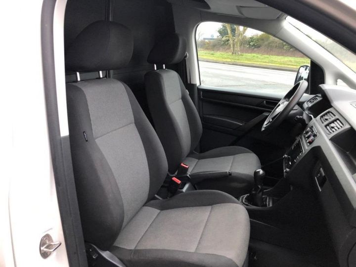 Utilitaire léger Volkswagen Caddy Caisse isotherme BLANC - 12