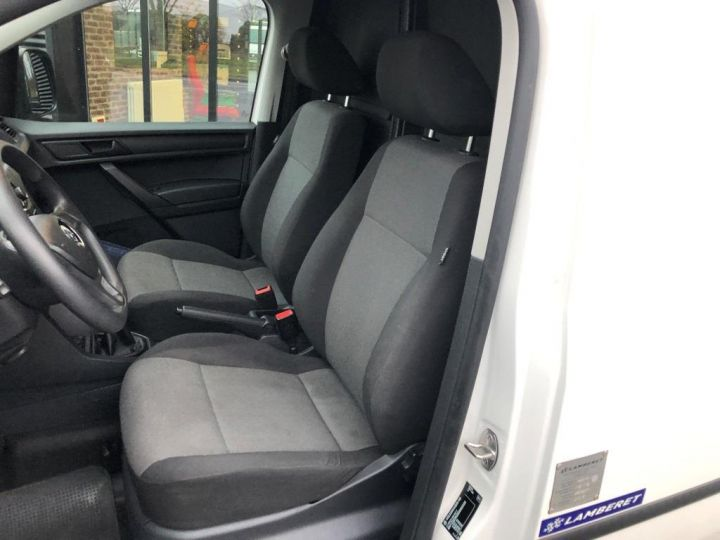 Utilitaire léger Volkswagen Caddy Caisse isotherme BLANC - 13
