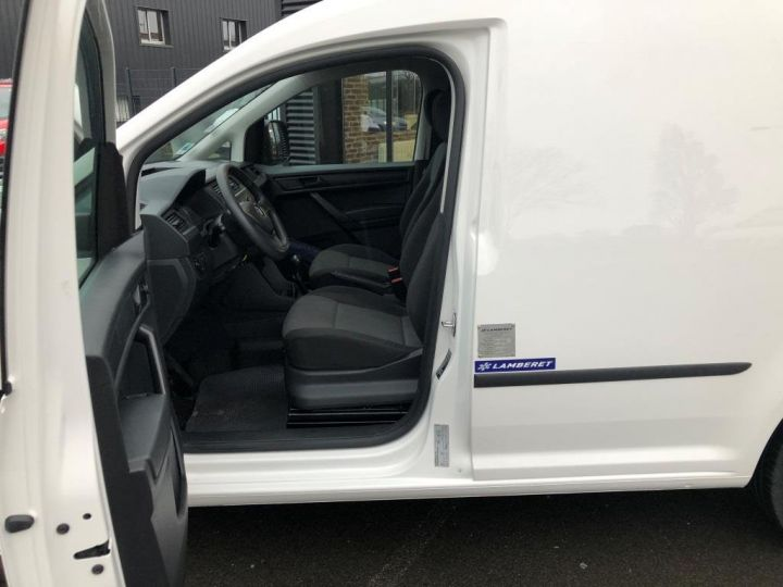 Utilitaire léger Volkswagen Caddy Caisse isotherme BLANC - 14