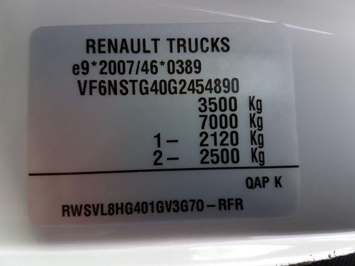 Utilitaire léger Renault D Chassis cabine 3.5 - 150dti.35 CC L4 ACTIVE Blanc EKLA Neuf - 12