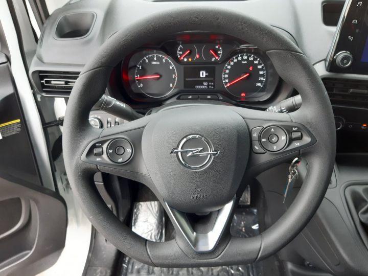 Utilitaire léger Opel Combo Fourgon frigorifique L1H1 1.5D 100CH PACK CLIM BLANC - 12