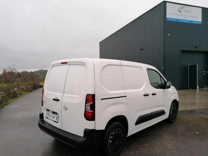 Utilitaire léger Opel Combo Fourgon tolé BLANC - 5