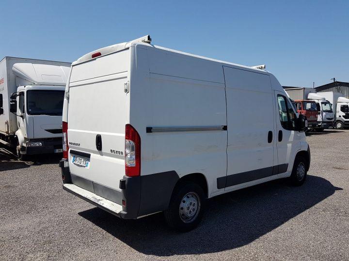 Utilitaire léger Peugeot Boxer Fourgon tolé 2.2 HDI 120 L2H2 BLANC - 2