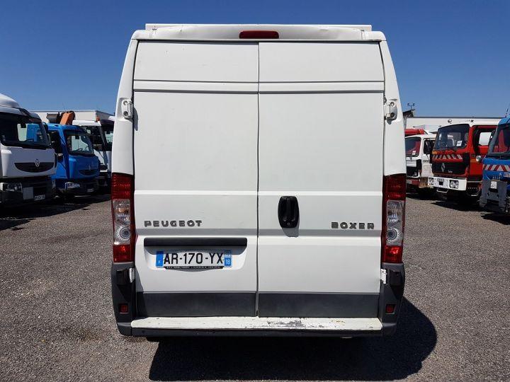 Utilitaire léger Peugeot Boxer Fourgon tolé 2.2 HDI 120 L2H2 BLANC - 6