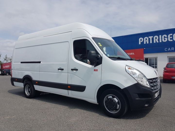 Utilitaire léger Renault Master Fourgon tolé 150dci.35 PROPULSION MJ BLANC Occasion - 3