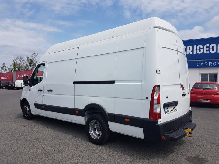 Utilitaire léger Renault Master Fourgon tolé 150dci.35 PROPULSION MJ BLANC Occasion - 4