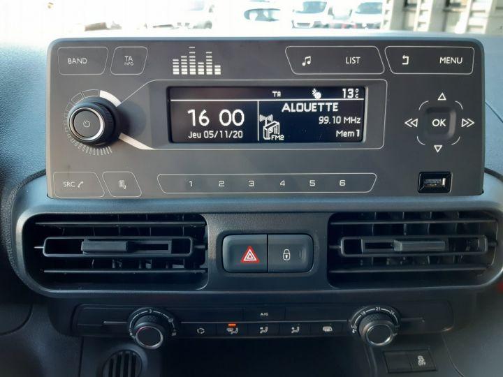 Utilitaire léger Toyota ProAce Fourgon tolé MEDIUM 1.5D 100CV DYNAMIC BLANC - 13