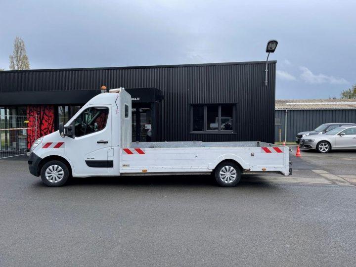 Utilitaire léger Renault Master Plateau 125 PICK UP LONG BLANC - 2