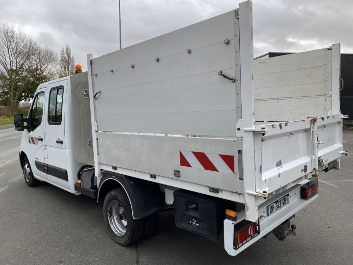 Utilitaires divers Renault Master Benne Double Cabine BLANC - 2