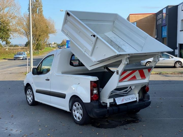 Utilitaires divers Peugeot Partner B.O.M 100 CV BENE A BEC ESSENCE BLANC - 6