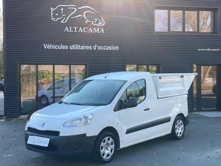 Utilitaires divers Peugeot Partner B.O.M 100 CV BENE A BEC ESSENCE BLANC - 18