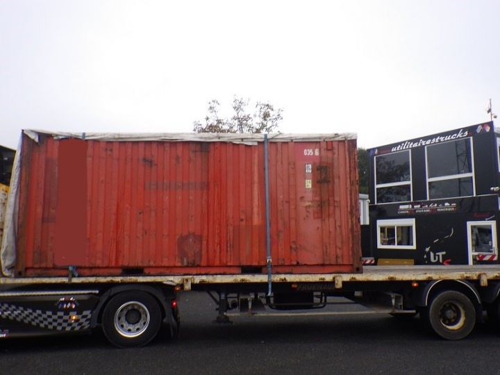 Varias utilidades Transporte de contenedores Marron - 4