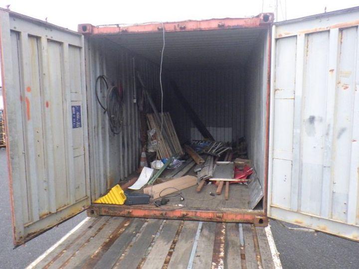 Varias utilidades Transporte de contenedores Marron - 6