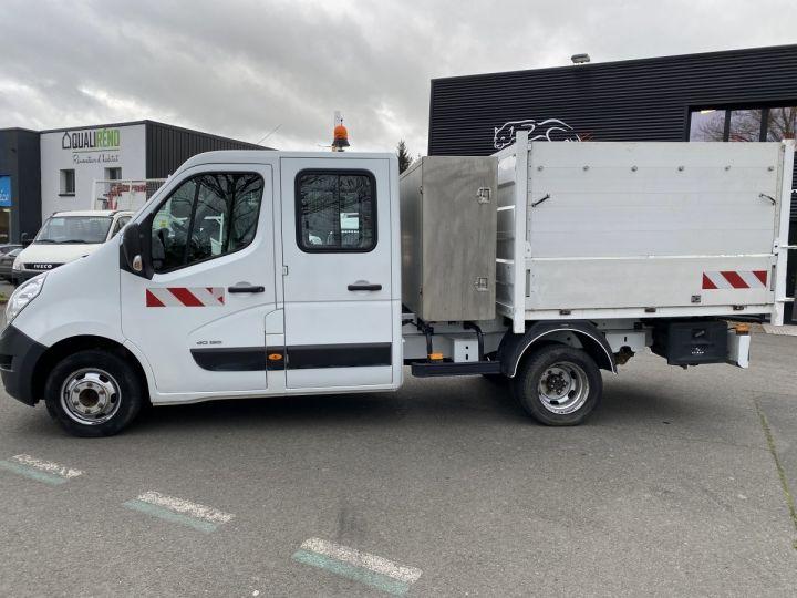 Varias utilidades Renault Master Volquete trasero cabina doble BLANC - 1