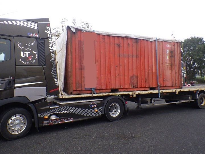 Various utilities Container carrier body Marron - 1
