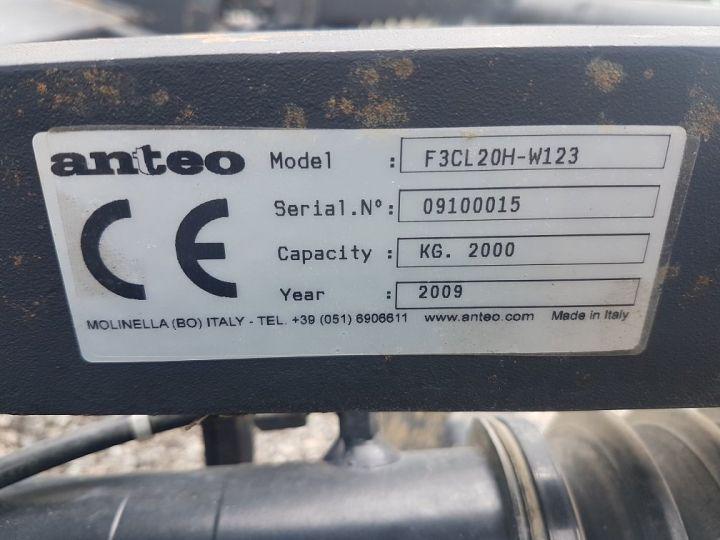 Various utilities Hayon élévateur ANTEO 2000 kg GRIS ET NOIR - 8