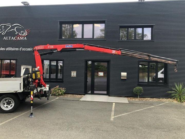 Various utilities Iveco Daily Platform body + crane 35C17 BLANC - 10