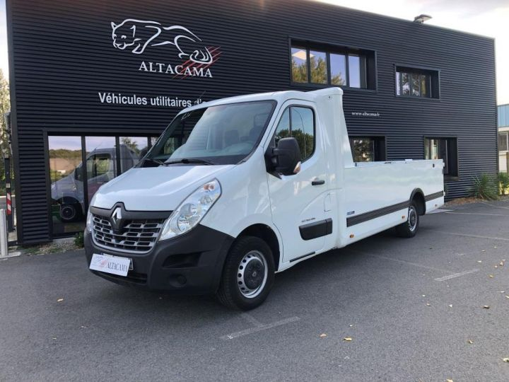 Various utilities Renault Master Platform body 165 PLATEAU PICK UP LONG 4.25 m L3H1  BLANC - 1