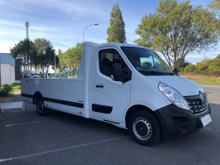 Various utilities Renault Master Platform body 165 PLATEAU PICK UP LONG 4.25 m L3H1  BLANC - 2