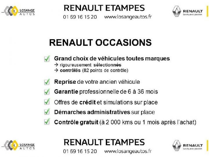 Various utilities Renault Clio 1.5 dCi 75 Energy Air M BLANC - 9