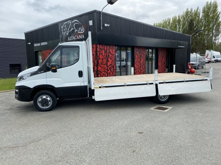 Vehiculo comercial Iveco Daily Caja abierta 35C15 PLATEAU LONG GRANDE LARGEUR, 2 COFFRES BLANC - 6