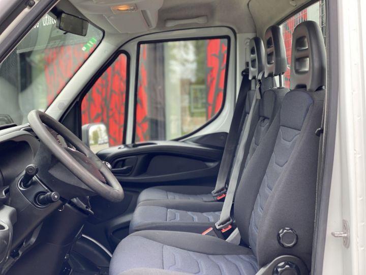Vehiculo comercial Iveco Daily Caja abierta 35C15 PLATEAU LONG GRANDE LARGEUR, 2 COFFRES BLANC - 10
