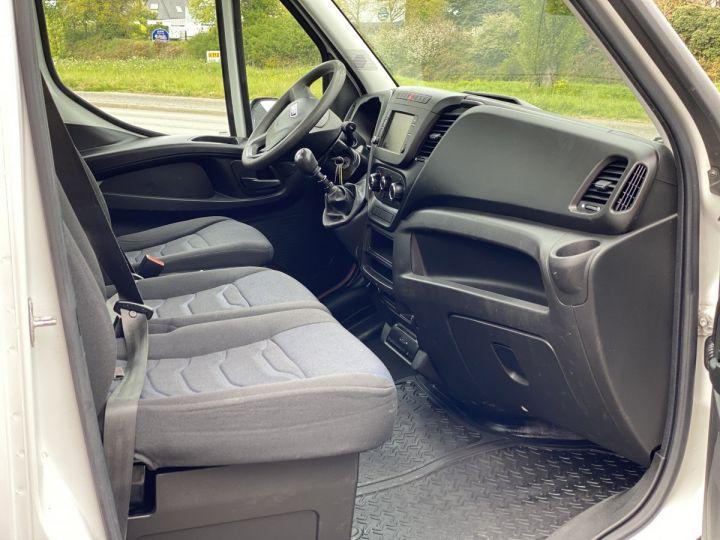 Vehiculo comercial Iveco Daily Caja abierta 35C15 PLATEAU LONG GRANDE LARGEUR, 2 COFFRES BLANC - 12