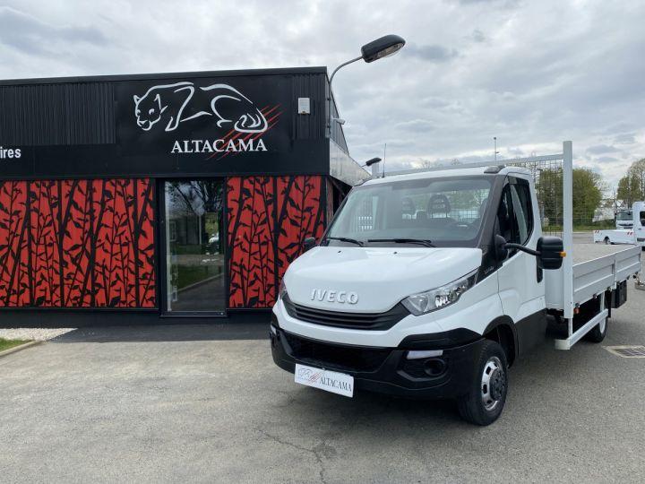 Vehiculo comercial Iveco Daily Caja abierta 35C15 PLATEAU LONG GRANDE LARGEUR, 2 COFFRES BLANC - 15
