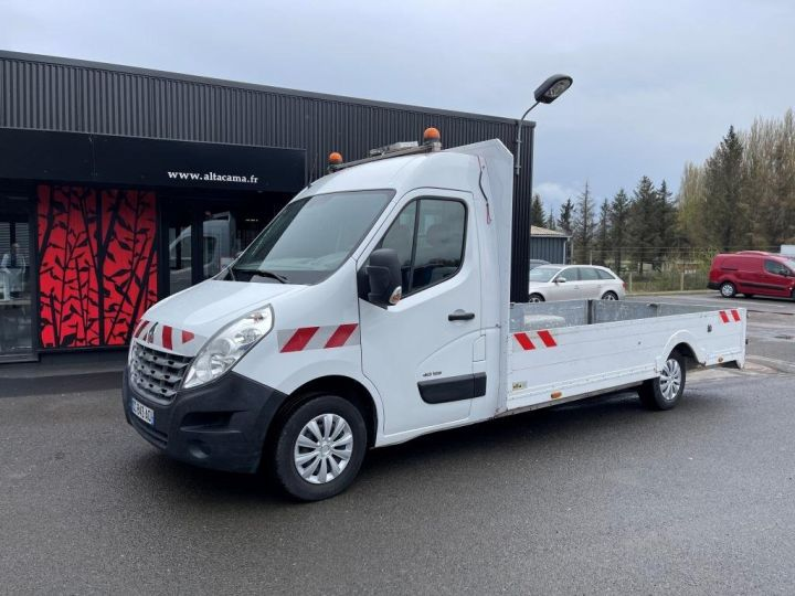 Vehiculo comercial Renault Master Caja abierta 125 PICK UP LONG BLANC - 1
