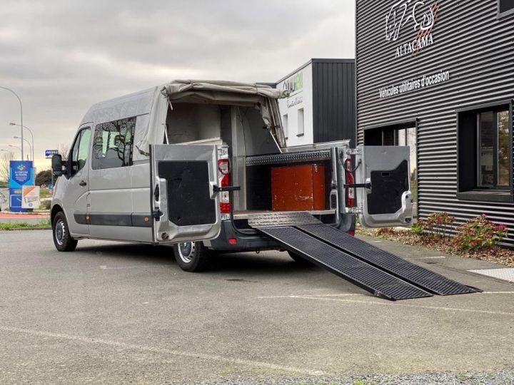 Vehiculo comercial Renault Pick Up L3H2 125 CV  6 PLACES PLATEAU PICK UP BACHE COULISSANTE RAMPES DE CHARGEMENT  GRIS - 3