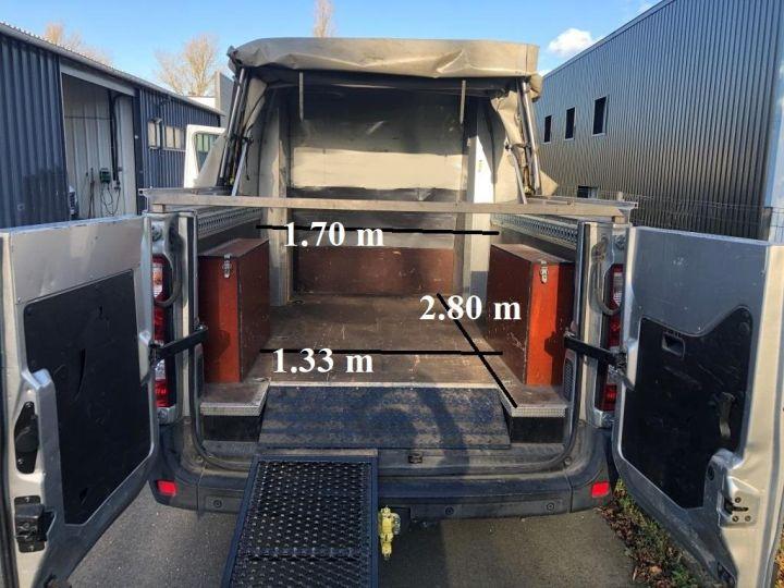 Vehiculo comercial Renault Master Pick Up L3H2 125 CV DOUBLE CABINE 6 PLACES PICK UP BACHAGE COULISSANT RAMPES DE CHARGEMENT  GRIS - 4