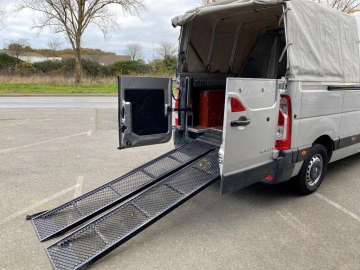 Vehiculo comercial Renault Master Pick Up L3H2 125 CV DOUBLE CABINE 6 PLACES PICK UP BACHAGE COULISSANT RAMPES DE CHARGEMENT  GRIS - 5