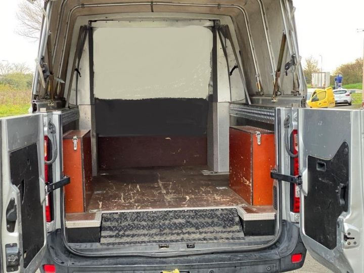 Vehiculo comercial Renault Master Pick Up L3H2 125 CV DOUBLE CABINE 6 PLACES PICK UP BACHAGE COULISSANT RAMPES DE CHARGEMENT  GRIS - 7
