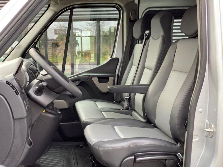 Vehiculo comercial Renault Master Pick Up L3H2 125 CV DOUBLE CABINE 6 PLACES PICK UP BACHAGE COULISSANT RAMPES DE CHARGEMENT  GRIS - 11